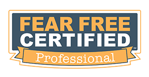 Fear Free Certified Professional - Goshen Animal Clinic